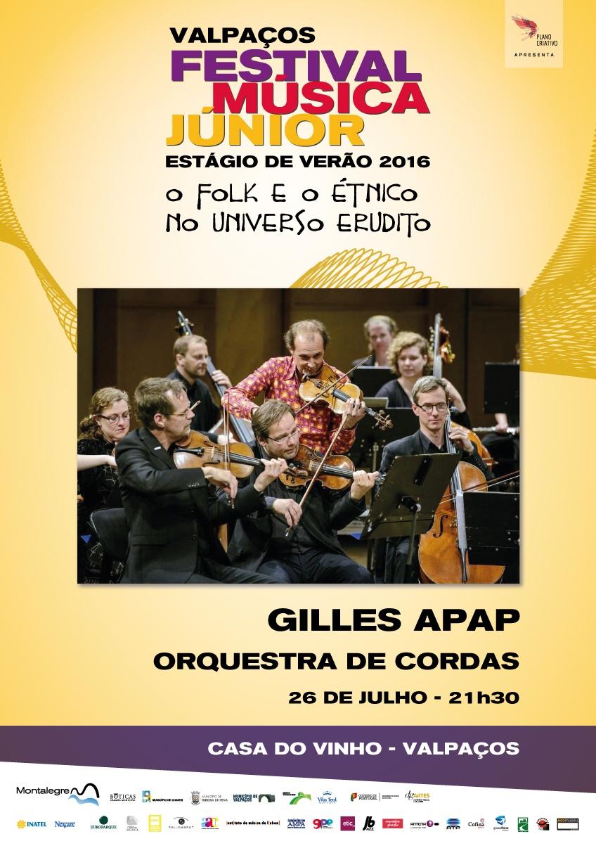 Gilles Apap em Valpaços