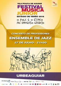 Ensemble de Jazz em Vila Pouca de Aguiar