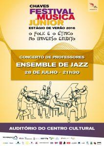 Ensemble de Jazz em Chaves