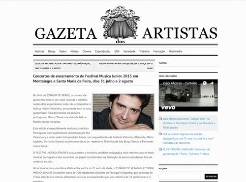 Gazeta dos Artistas